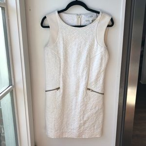J. Crew Winter White Dress